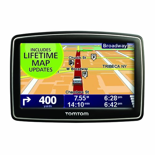 TomTom XL 340M 4.3-Inch Portable GPS Navigator (Lifetime Maps Edition)(Discontinued by Manufacturer)