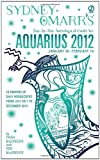 Sydney Omarr's Day-by-Day Astrological Guide for the Year 2012: Aquarius (Sydney Omarr's Day-By-Day Astrological: Aquarius) (045123362X) by MacGregor, Trish