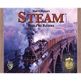 Steam, Rails to Riches!