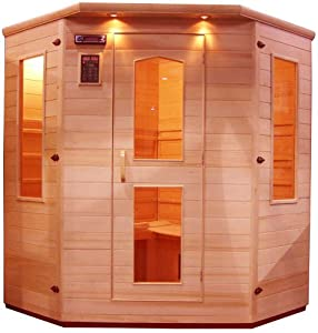 Four-Person Corner Sauna
