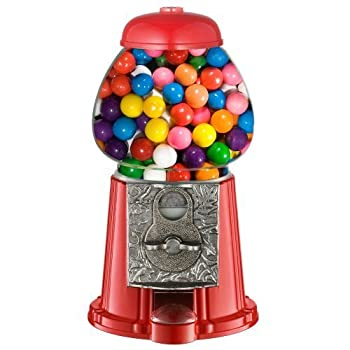 Great Northern Popcorn Company Old Fashioned Vintage Candy Gumball Machine Bank, 11-Inch by Great Northern Popcorn Company