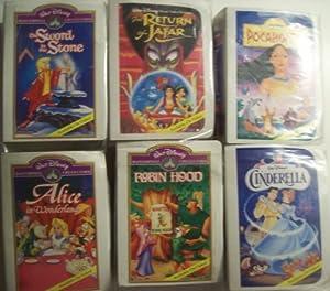 Mcdonalds Happy Meal Walt Disney Masterpiece Collection Figures 1995 (Set of 6)