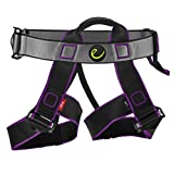 Edelrid Joker Jr. Climbing Harness - Night/Violet One Size Fits All Kids