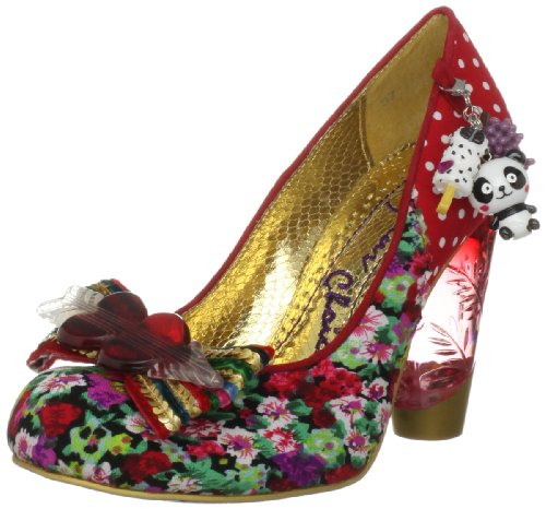 Irregular Choice Women's Stick Of Rock Red Multicolor Mary Janes 3801-24C 3.5 UK, 36 EU