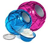 YayLabs Play and Freeze Ice Cream Ball Ice Cream Maker, Quart, Purple