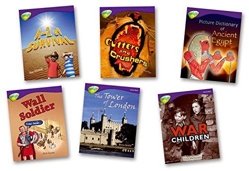 Oxford Reading Tree: Level 11:Treetops Non-Fiction: Pack (6 books, 1 of each title)