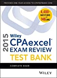 img - for Wiley CPAexcel Exam Review 2015 Test Bank: Complete Exam book / textbook / text book
