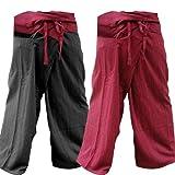 2PACK-[2P008] Thai Fisherman Pants Yoga Trousers