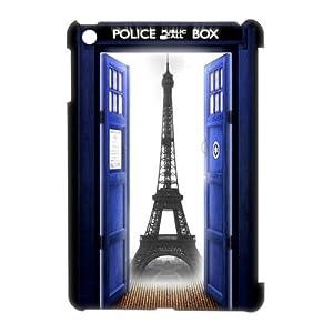 Popular Doctor Who Tardis Police Call Box Designed White Hard Case for Ipad Mini