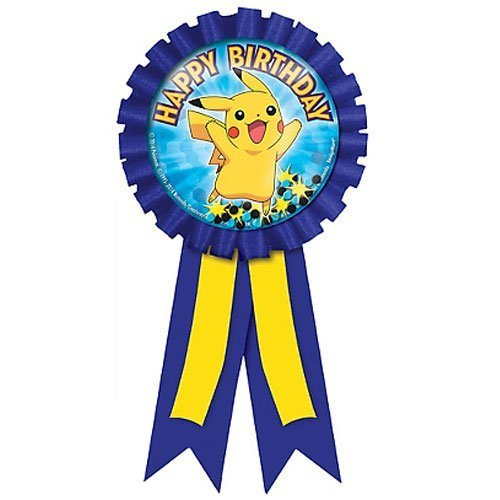Pokemon 'Pikachu and Friends' Guest of Honor Award Ribbon (1ct)