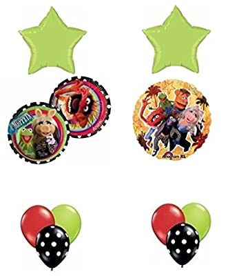 The Muppets Birthday Party Balloon Bouquet