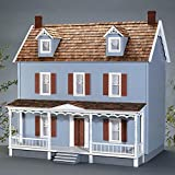 Real Good Toys Real Good Toys Walton Dollhouse Kit - 1 Inch Scale, Milled MDF Wall Finish, Medium Density Fiberboard