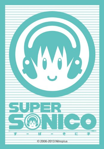Nitro Super Sonico Child Logo Mark Character Card Mini Sleeves Nitroplus Broccoli Anime Game TCG CCG YuGiOh Vanguard - 1