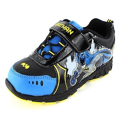 Amazon.com: Batman Boys Black Lighted Sneakers Shoes (10 M ...