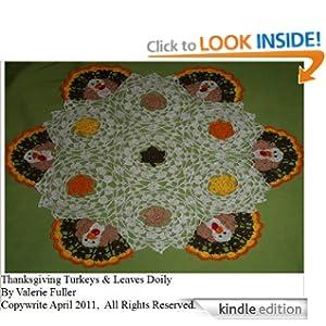 Crochet Galore: Around A Square Doily - Free Pattern