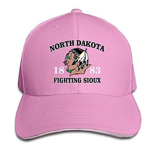 MayDay North Dakota Fighting Sioux 1883 Cycling Sandwich Hat Pink (Head Pure Joy compare prices)