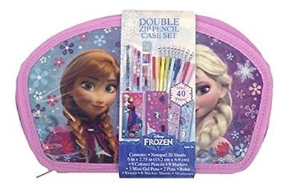 Disney Frozen Elsa and Anna Pencil Case Art Set