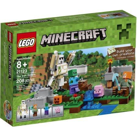 LEGO Minecraft The Iron Golem Model#21123 Pieces:208 (Minecraft Model compare prices)