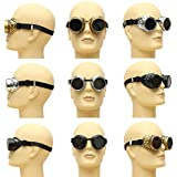 ACEFAST New Sell Vintage Steampunk Glasses Welding Cyber Punk Gothic