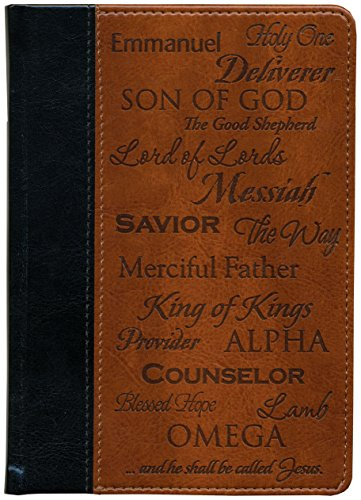 Brownlow Kitchen Gifts Scripture Pocket Journal, Names of Jesus