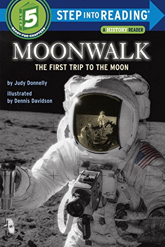 Moonwalk: The First Trip to the Moon (Step-Into-Reading, Step 5) (I Can Read Level 4 compare prices)