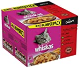 #5: Whiskas Traditional Dishes in Gravy 24 Pouches (Pack of 2, Total 48 Pouches)