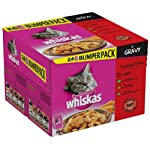 Whiskas Traditional Dishes in Gravy 24 Pouches (Pack of 2, Total 48 Pouches)