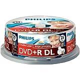 DR8I2B25F - 25 x DVD+R DL - 8.5 GB ( 240 Min. ) 2.4x
