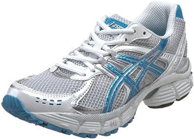 ASICS Women's GEL-Pulse 3 T184N.0141 Running Shoe,White/Marina Blue/Lightning,6 M US