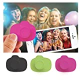 DCI Selfie Snaps Wireless Shutter Control for Smartphones - Retail Packaging - Pink/Green/Black