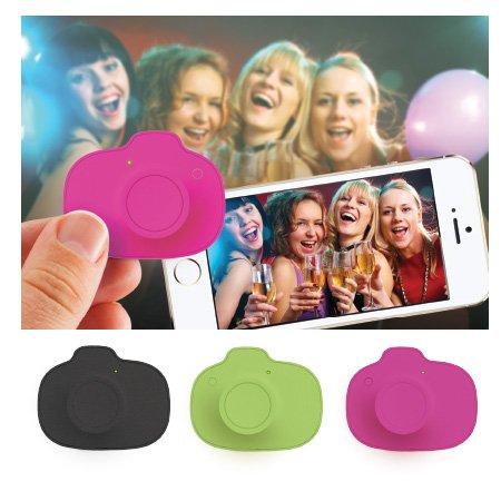 DCI Selfie Snaps Wireless Shutter Control for Smartphones - Retail Packaging - Pink/Green/Black