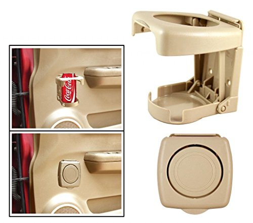 Vetra Foldable Drink Can Glass Holder Beige For Tata Nano