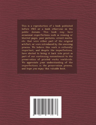 ... a Study of Lapses, Volume 3, Issue 4 - Primary Source Edition