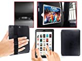 Apple iPad Mini BLACK Dual In-Car Headrest Holder & Flip Case Cover