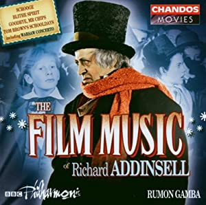 The Film Music Of Richard Addinsell Soundtrack from Chandos