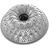 Nordicware 88737 Stained Glass Bundt Pan, Silver