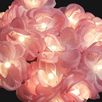 Blaze On Romantic Rose Fairy Lights Pink 20 LED