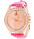 EfashionUp Gold Dial dk Watch For Women and Girl-231