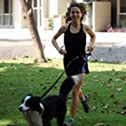 Running Dog Leash Hands Free - Including LED Light.