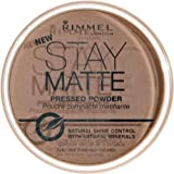 Rimmel face make-up pressed powder stay matte silky beige