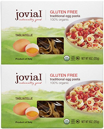 Jovial Traditional Egg Pasta - Tagliatelle - 9 oz - 2 pk (Jovial Egg Pasta compare prices)