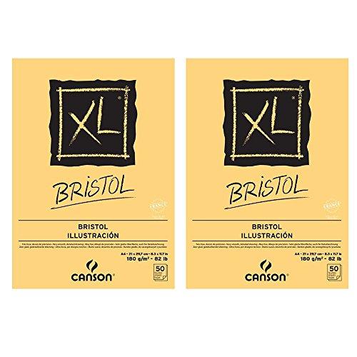 canson-xl-bristol-set-di-2-blocchi-di-carta-da-disegno-incollato-sul-lato-corto-50-fogli-180-g-forma
