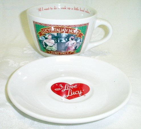 I Love Lucy European Vacation Latte Mug