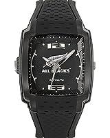 All Blacks - 680135 - Montre Homme - Quartz Analogique - Cadran Noir - Bracelet Plastique Noir