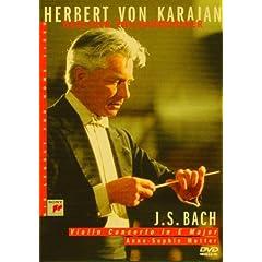 Karajan - Bach : Concerto pour violon - DVD