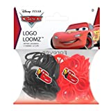 Disney Cars Lightning McQueen Loom Bands and Charm Pack (200 Bands, 6 Clips and 1 Charm)