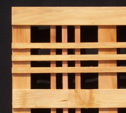 Cedar Lattice Panels ~ Cedar catalina lattice panel x pack