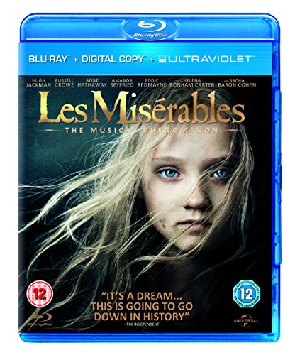 LES MISERABLES-BLU-RAY [UK Import]