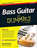Bass Guitar For Dummies, Book + Online Video & Audio Instruction