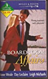 img - for Boardroom Affairs (Mills & Boon by Request) book / textbook / text book